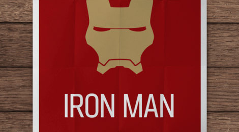 Minimalist movie posters #1