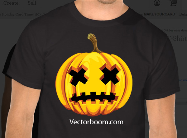 13 halloween inspired adobe illustrator tutorials How to make t shirt designs in illustrator