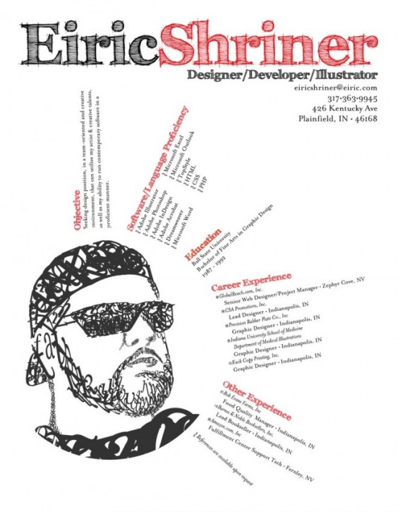 19 creative resumes on vectorgraphit
