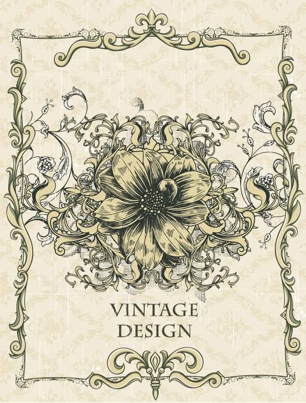 3-free-vector-vintage-design-illustration