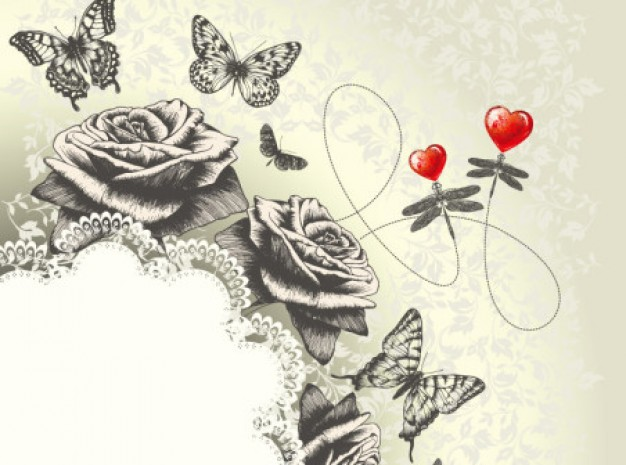 classic-hand-painting-art-butterfly-roses-background_293-881