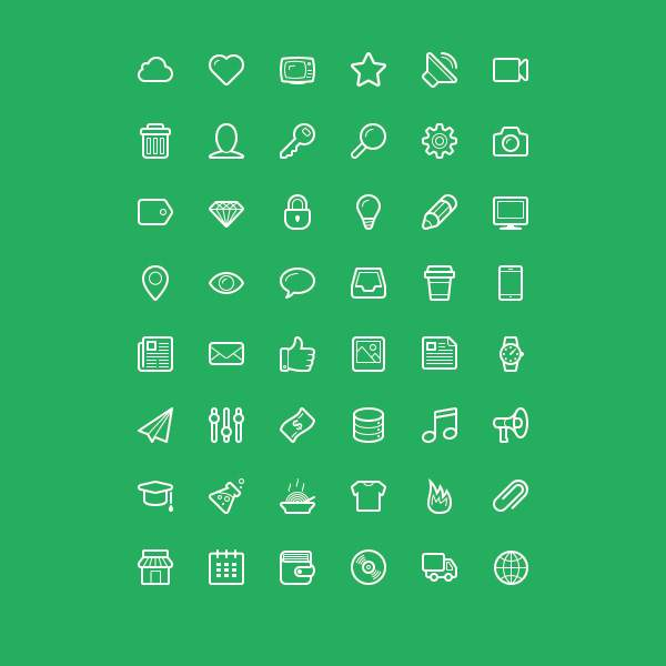 linecons-icons-preview