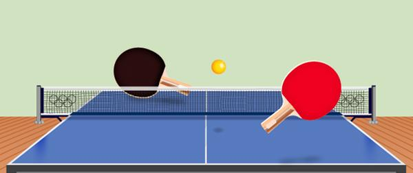How to create a ping pong table in adobe illustrator on vectorgraphit - Dimension d une table de ping pong ...