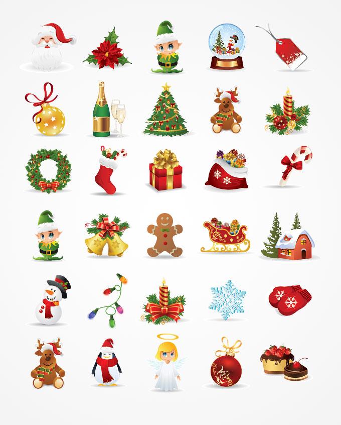 christmas clipart free vector - photo #18