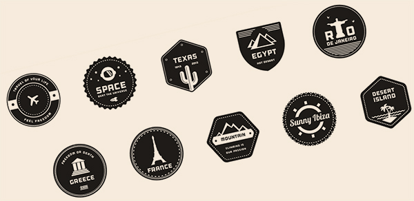 travel-badges
