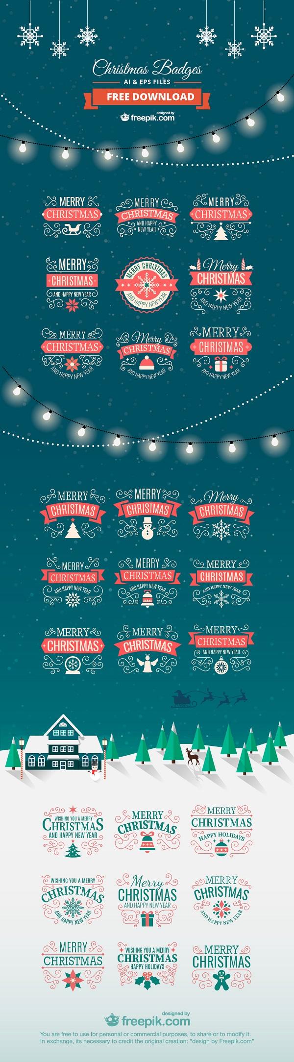 Christmas-labels-II