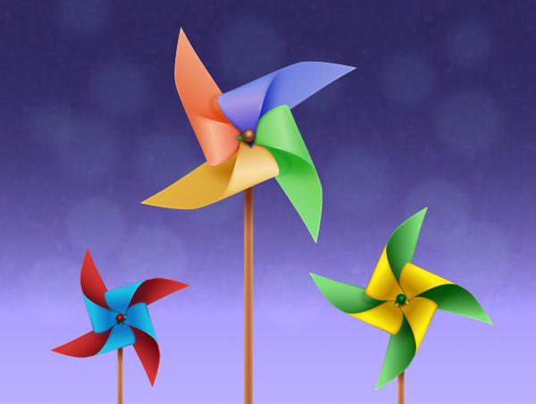 Transforming Modular Pinwheel! : 9 Steps - Instructables | 452x600