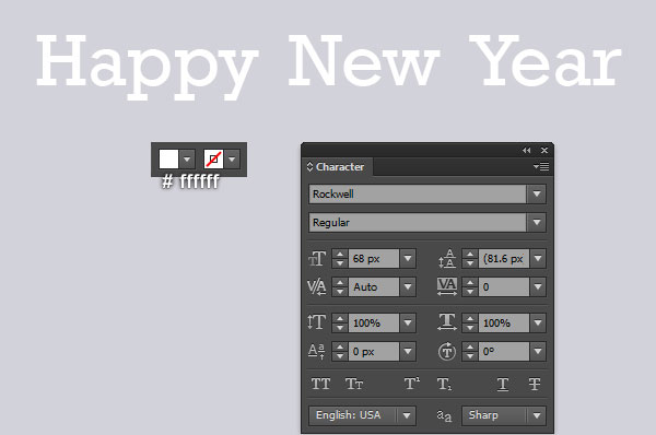 Adobe Illustrator Tutorial - Create a Happy New Year Greeting Card