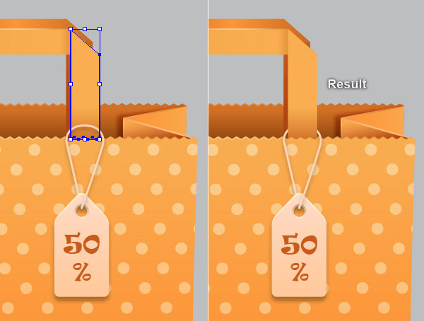 Shopping Bag Adobe Illustrator Tutorial